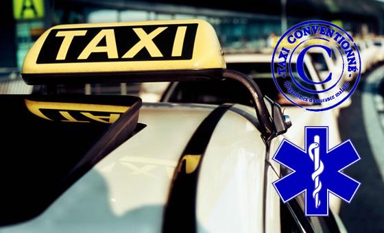 Est-il possible de réserver un taxi conventionné à l'avance